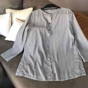 Long sleeve 3 button Tunic Top from Ann Taylor